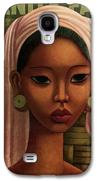 A Woman From Bali Galaxy S4 Case by Miguel Covarrubias