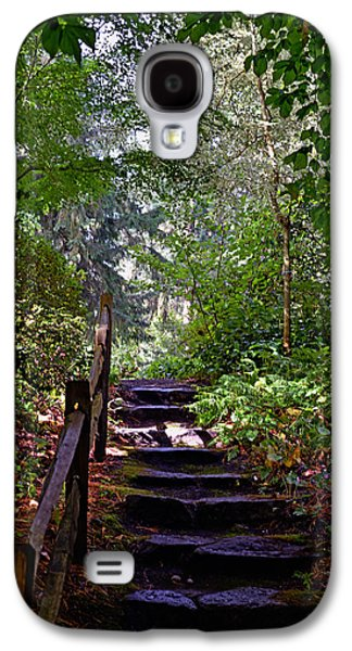 Galaxy S4 Case featuring the photograph A Wooded Path by Anthony Baatz