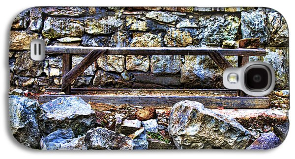 Abandoned Bench Galaxy S4 Case by Milan Karadzic