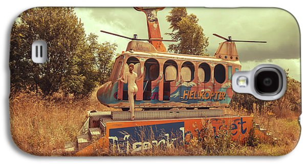 Helicopter Galaxy S4 Case - Abandoned Helicopter by Abandon.dk