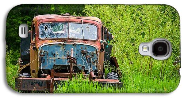 Abandoned Truck In Rural Michigan Galaxy S4 Case by Adam Romanowicz