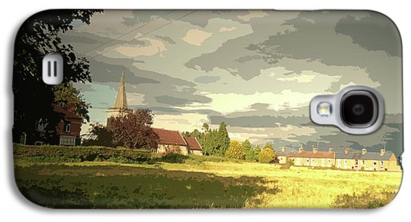 Abbey Fields And St Michaels Church In, Historic Site Galaxy S4 Case