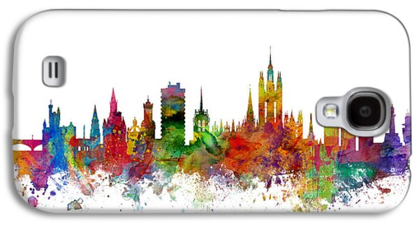 Aberdeen Scotland Skyline Galaxy S4 Case by Michael Tompsett