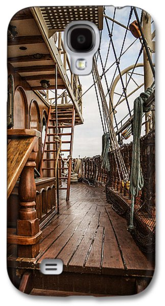 Aboard The Tall Ship Peacemaker Galaxy S4 Case by Dale Kincaid