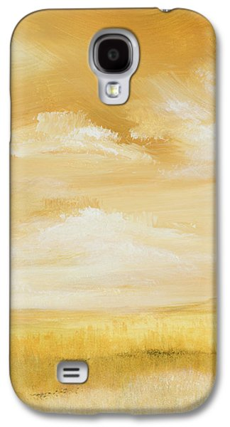 Above Golden Plains I Galaxy S4 Case