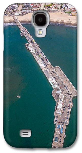 Above Santa Cruz Wharf Galaxy S4 Case by Randy Straka