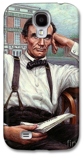 Abraham Lincoln Of Springfield Bicentennial Portrait Galaxy S4 Case