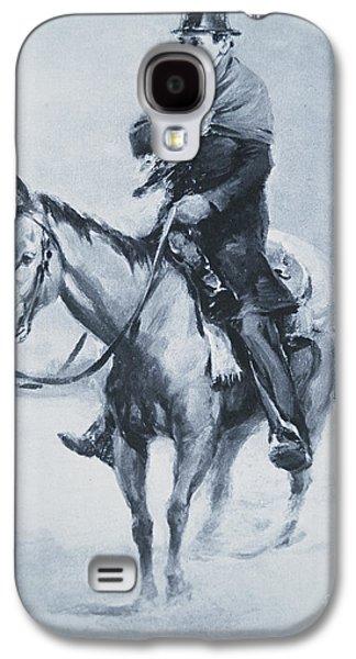 Abraham Lincoln Riding His Judicial Circuit Galaxy S4 Case