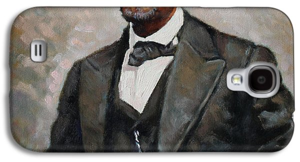 Abraham Lincoln Galaxy S4 Case by Ylli Haruni
