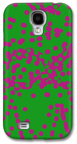 Abstract 005 Galaxy S4 Case by Earnestine Clay