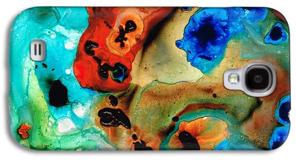 Abstract 4 - Abstract Art By Sharon Cummings Galaxy S4 Case
