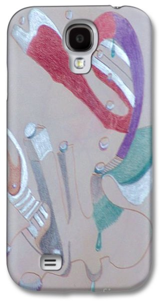 Abstract 9-12 Galaxy S4 Case by Rod Ismay