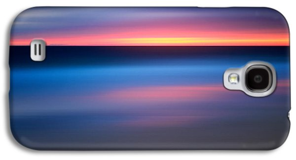 Abstract Beach Sunset Galaxy S4 Case by Katherine Gendreau