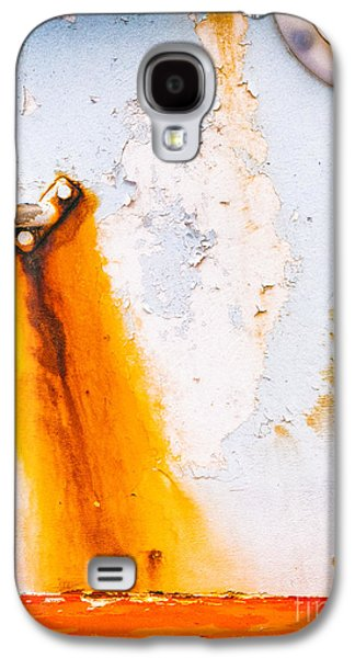 Galaxy S4 Case featuring the photograph Abstract Boat Detail by Silvia Ganora