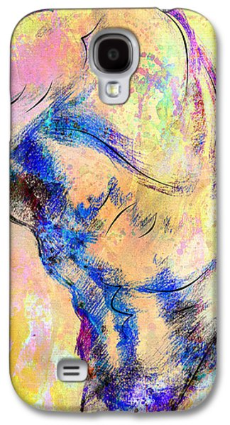 Abstract Bod 6 Galaxy S4 Case by Mark Ashkenazi