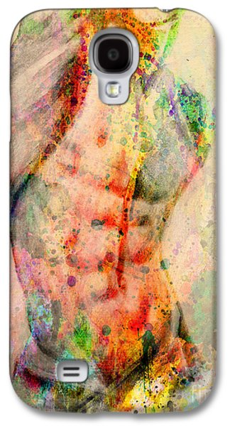 Abstract Body 5 Galaxy S4 Case by Mark Ashkenazi