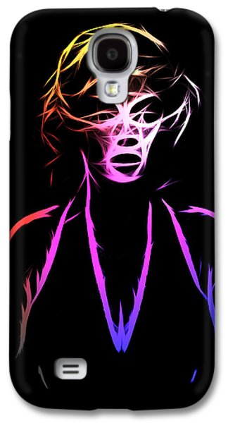 Abstract Colorful Monroe Galaxy S4 Case