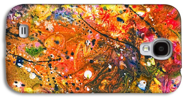 Abstract - Crayon - The Excitement Galaxy S4 Case