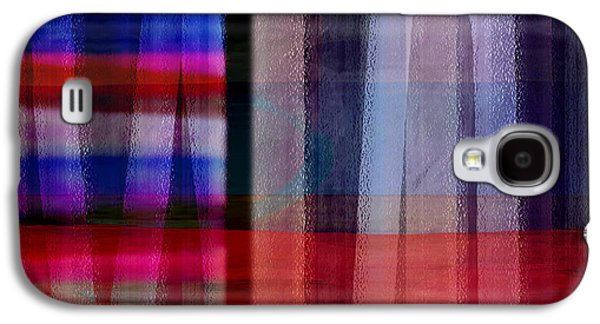 Abstract Cross Lines II Galaxy S4 Case