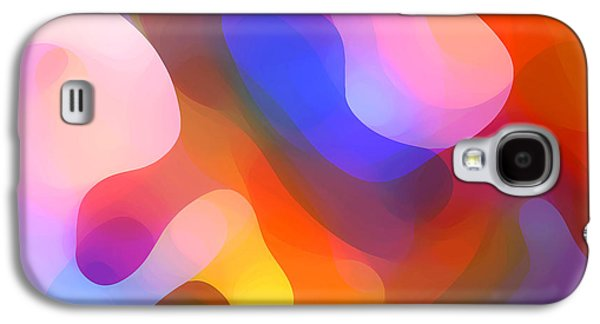 Nature Abstract Galaxy S4 Cases - Abstract Dappled Sunlight Galaxy S4 Case by Amy Vangsgard