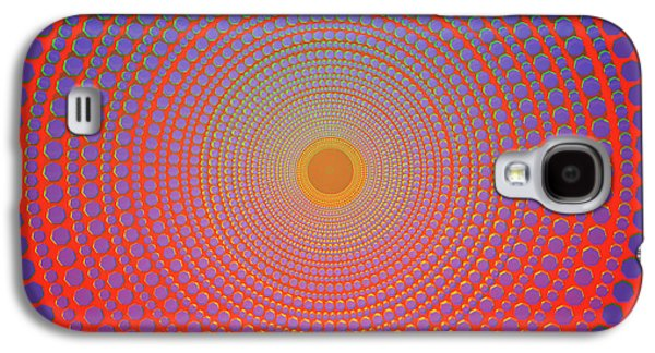 Abstract Dot Galaxy S4 Case
