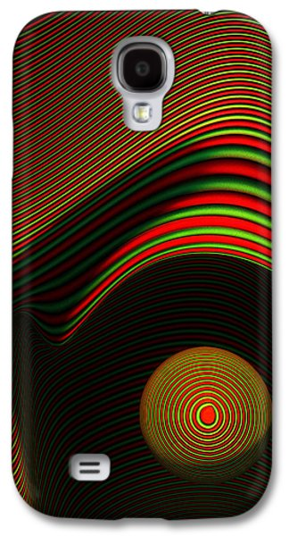 Abstract Eye Galaxy S4 Case