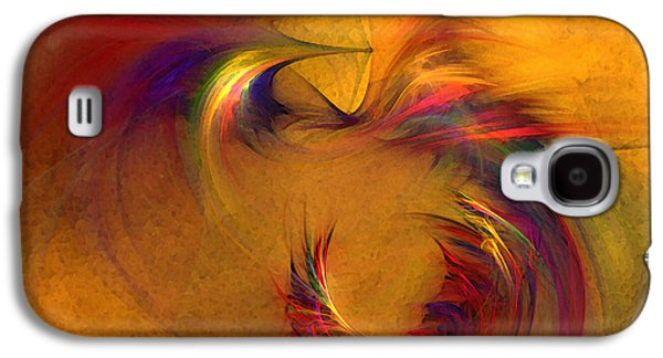 Abstract Fine Art Print High Spirits Galaxy S4 Case by Karin Kuhlmann