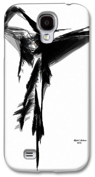 Abstract Flamenco Galaxy S4 Case