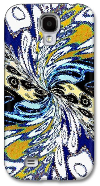 Abstract Fusion 198 Galaxy S4 Case