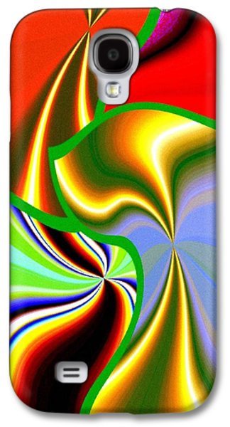 Abstract Fusion 200 Galaxy S4 Case