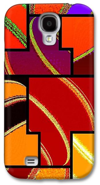 Abstract Fusion 232 Galaxy S4 Case