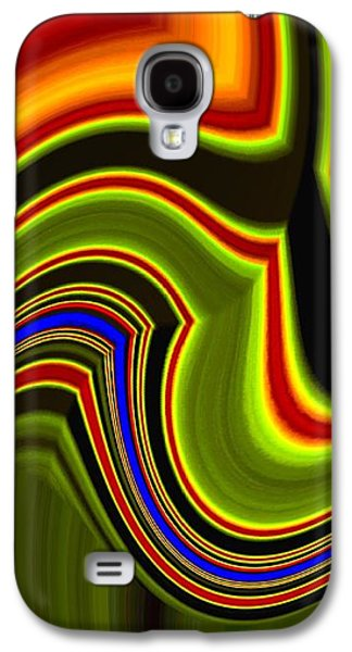 Abstract Fusion 234 Galaxy S4 Case by Will Borden