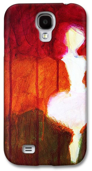 Abstract Ghost Figure No. 2 Galaxy S4 Case