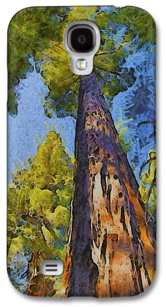 Abstract Giant Sequoia Galaxy S4 Case by Barbara Snyder