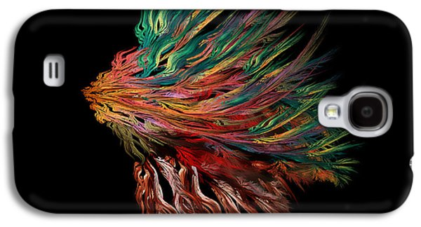 Abstract Lion's Head Galaxy S4 Case