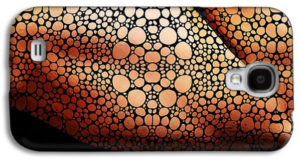 Abstract Male Form By Sharon Cummings Galaxy S4 Case by Sharon Cummings