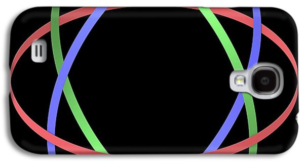 Abstract Orbit Circles Galaxy S4 Case by Alfred Pasieka