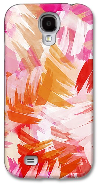 Abstract Paint Pattern Galaxy S4 Case by Christina Rollo