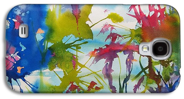 Abstract -  Primordial Life Galaxy S4 Case