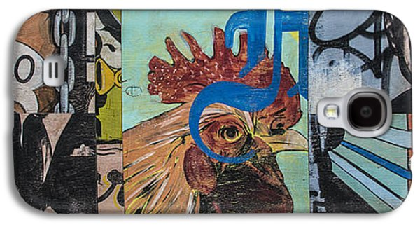 Abstract Rooster Panel Galaxy S4 Case