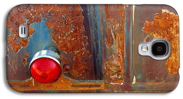 Abstract Rust Galaxy S4 Case by Marilyn Smith