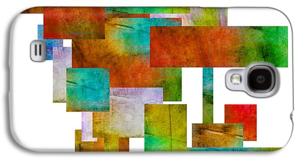 Abstract Study 21 Abstract -art Galaxy S4 Case