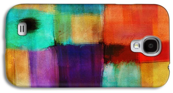 Abstract Study Three By Ann Powell Galaxy S4 Case
