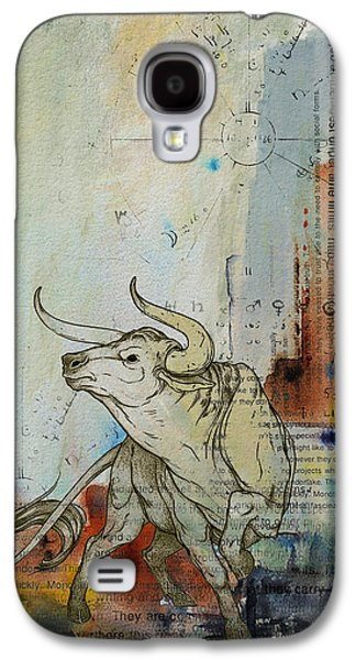 Abstract Tarot Art 017 Galaxy S4 Case by Corporate Art Task Force