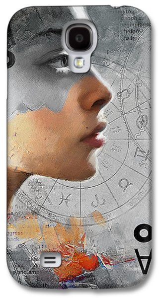 Abstract Tarot Art 019b Galaxy S4 Case by Corporate Art Task Force