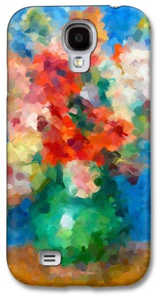Abstracting Renoir Galaxy S4 Case by Georgiana Romanovna