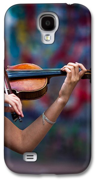 Abstracts From Vivaldi - Featured 3 Galaxy S4 Case by Alexander Senin