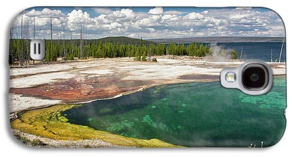 Abyss Pool, West Thumb Geyser Basin Galaxy S4 Case by Michel Hersen
