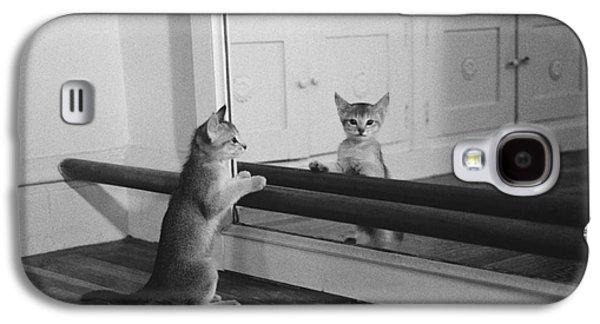 Abyssinian Kitten In Dance Studio Galaxy S4 Case