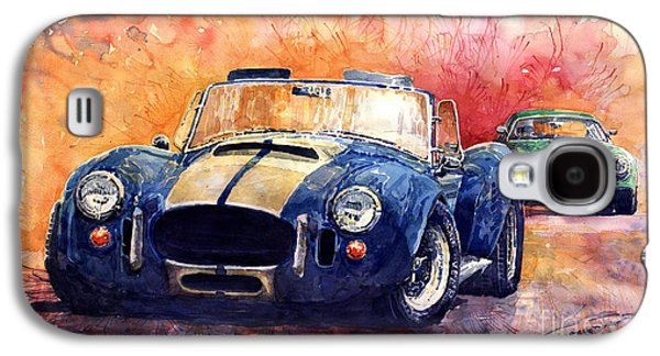 Ac Cobra Shelby 427 Galaxy S4 Case by Yuriy  Shevchuk